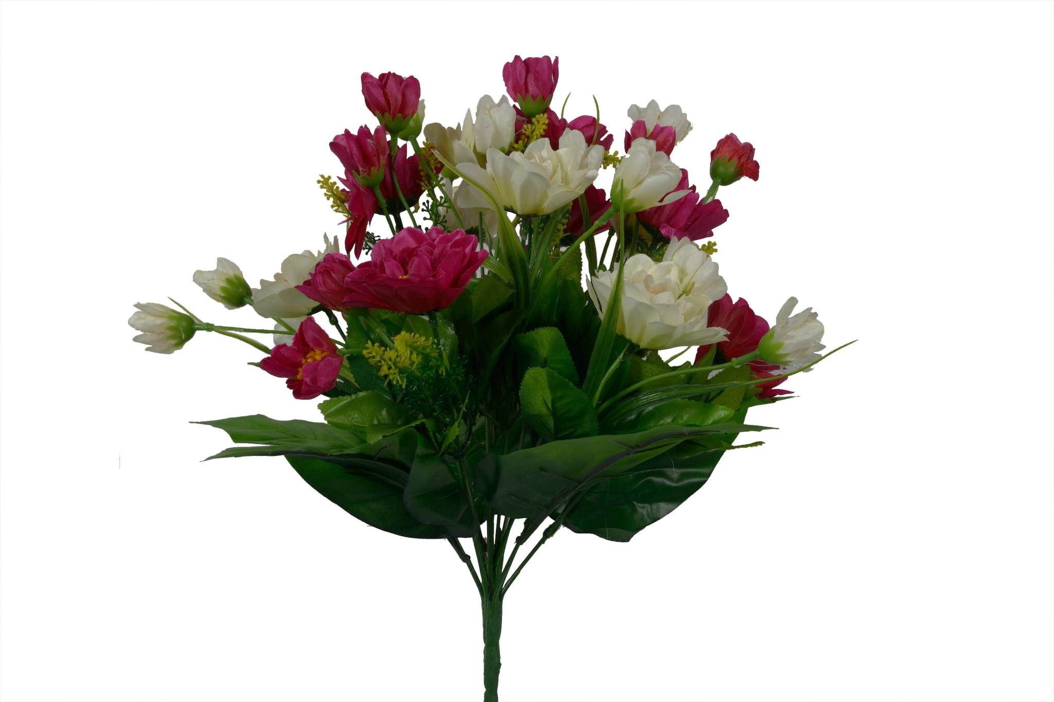 Artificial Lotus Flower Bunch N6C5