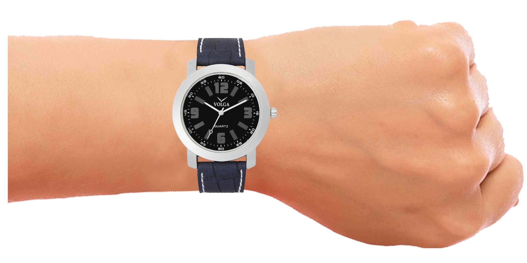 Volga New Arrival Analogue Sports Dial Men's Wrist Watch