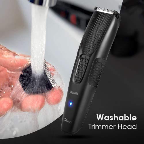 SYSKA HT200U BeardPro Trimmer Cordless Use & USB Charging