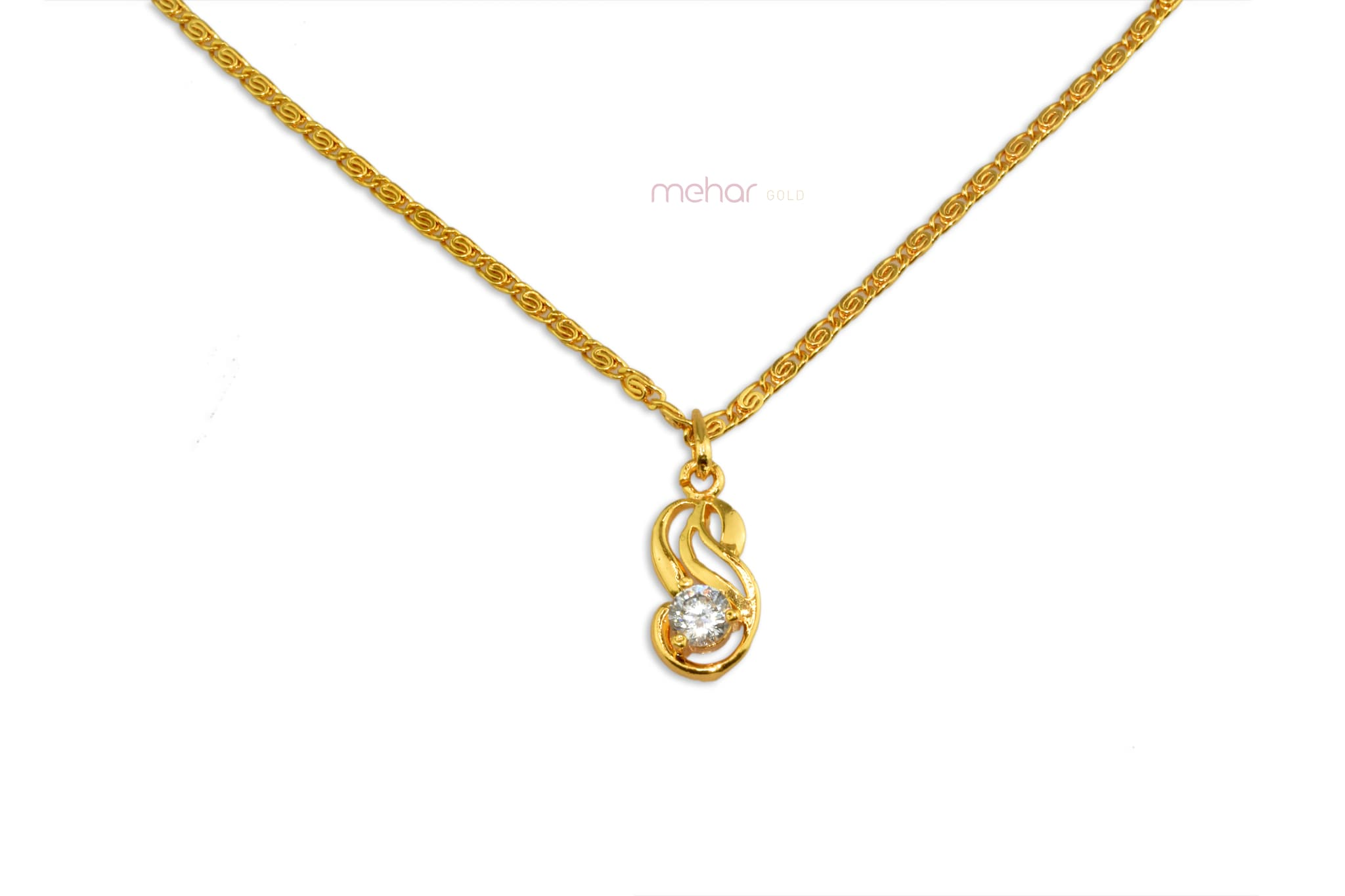 Chain With Locket 0115 (18inch)