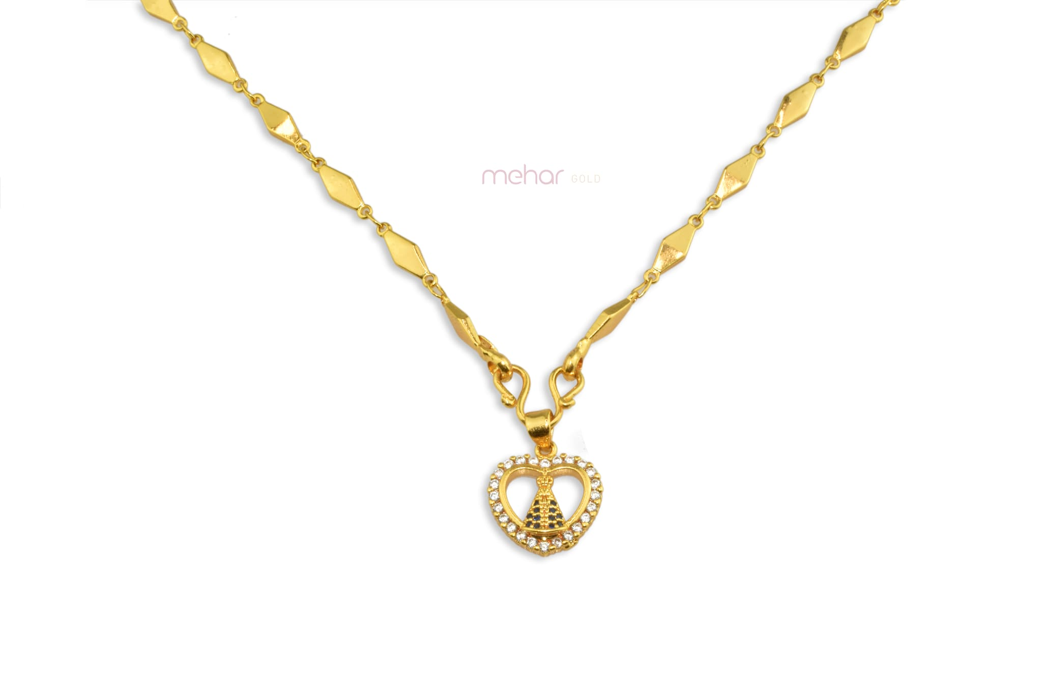 Chain With Locket 0116 (18inch)