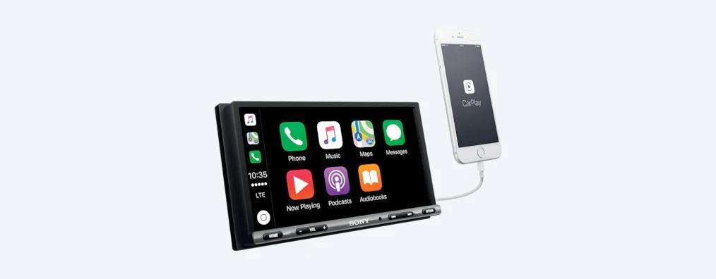 Sony 17.6 Cm (6.95) Apple CarPlay/Android Auto™ Media Receiver XAV-AX3000