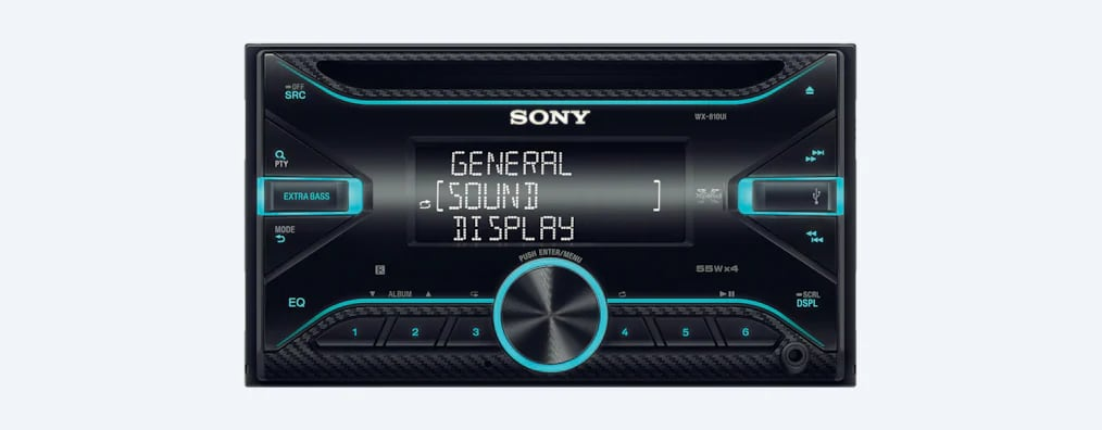 Sony CD Receiver With USB WX-810UI