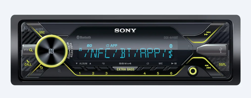 Sony Media Receiver With BLUETOOTH® Technology DSX-A416BT
