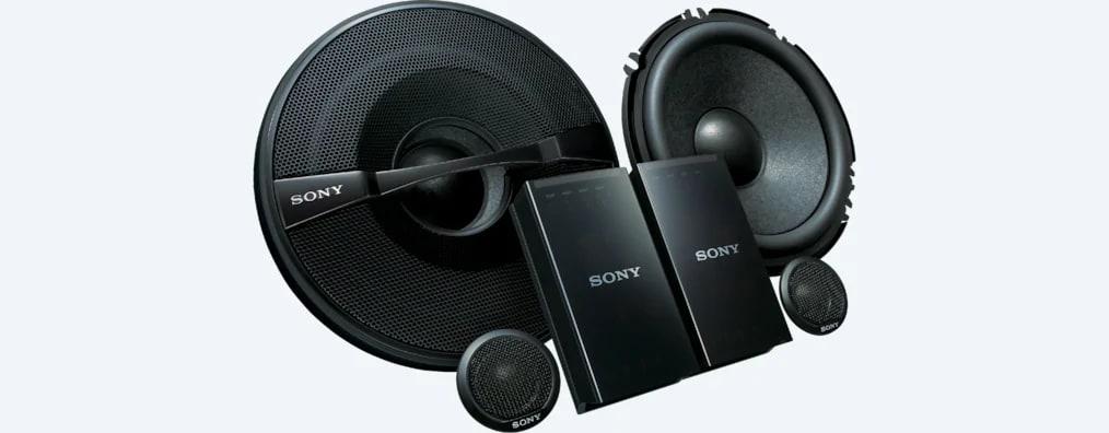 Sony 16 Cm (6.3) 2-Way Component Speakers XS-GS1621C