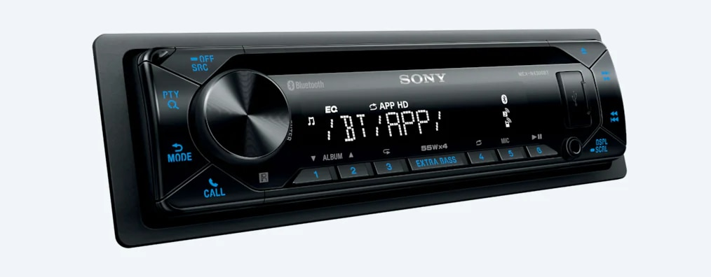 Sony CD Receiver With BLUETOOTH® Wireless Technology MEX-N4300BT