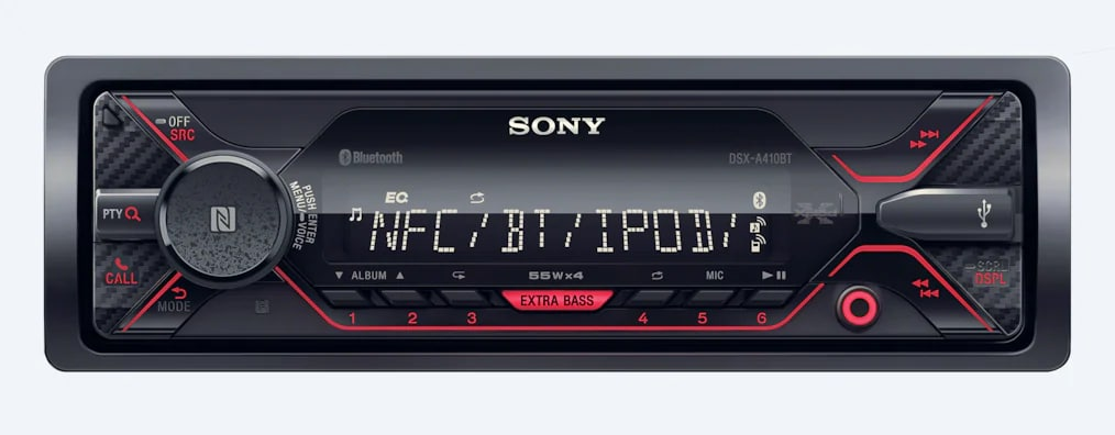 Sony Media Receiver With BLUETOOTH® Technology DSX-A410BT