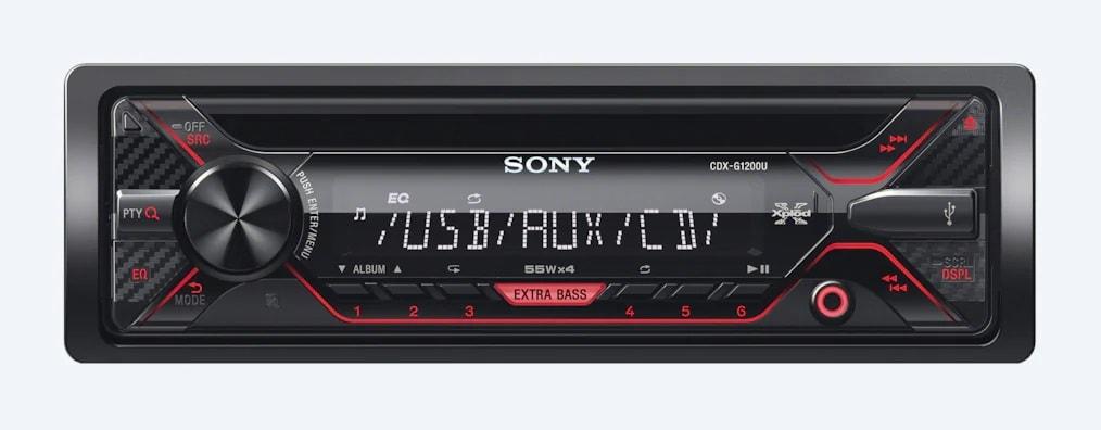 Sony Media Receiver With USB CDX-G1200U