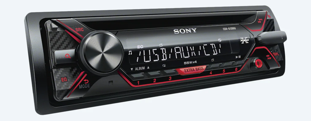 Sony Media Receiver With USB CDX-G1200U