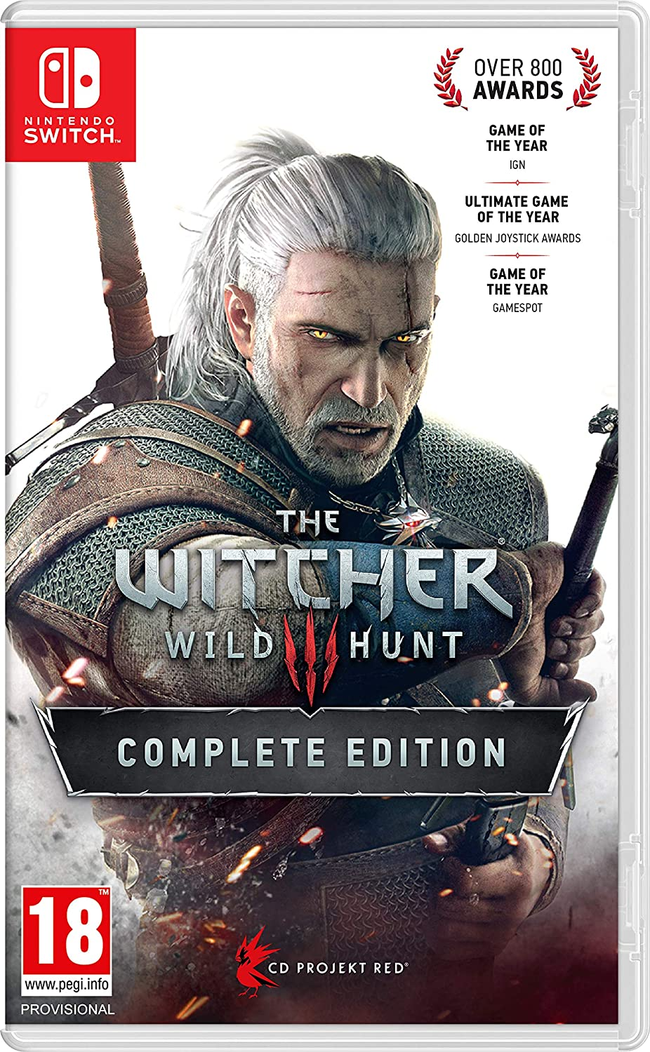 The Witcher 3 III Wild Hunt Complete Edition (Nintendo Switch)