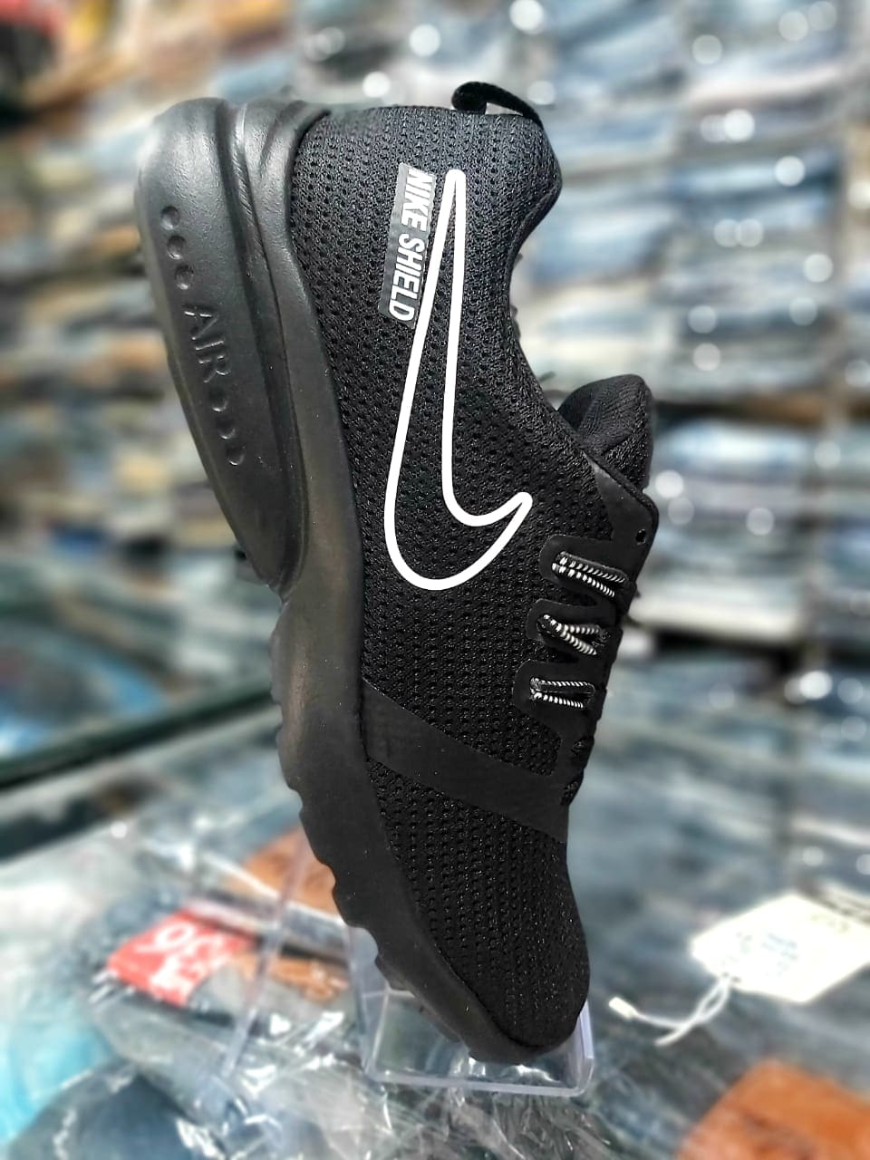 Men's Shoes Stylish Sports Wear Black Shoes SS04 (8)