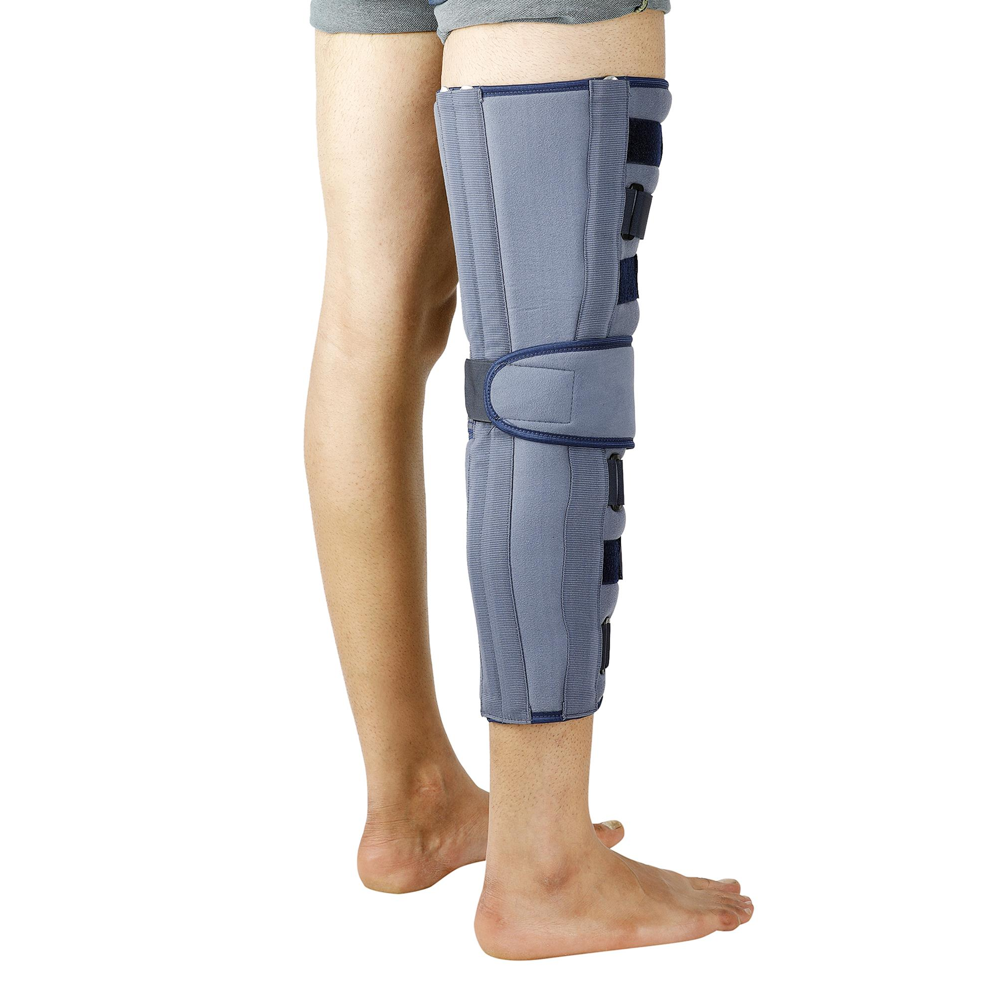 """Lifeshield Knee Immobilizer 22"""": Used For Restricting Leg & Knee Movement After Surgery Or Injury (X Large)"""