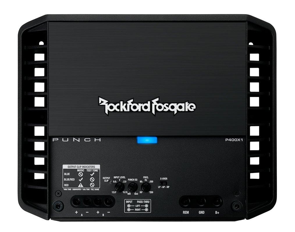 Rockford 400 Watts Mono Amplifier - Punch Series  P400X1