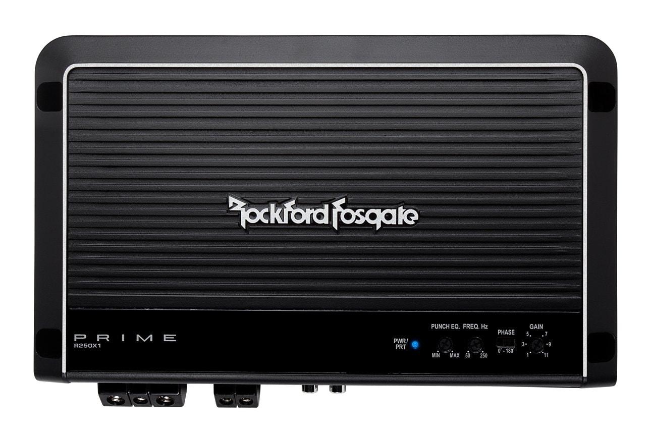 Rockford 250 Watts Mono Amplifier - Prime Series R250X1