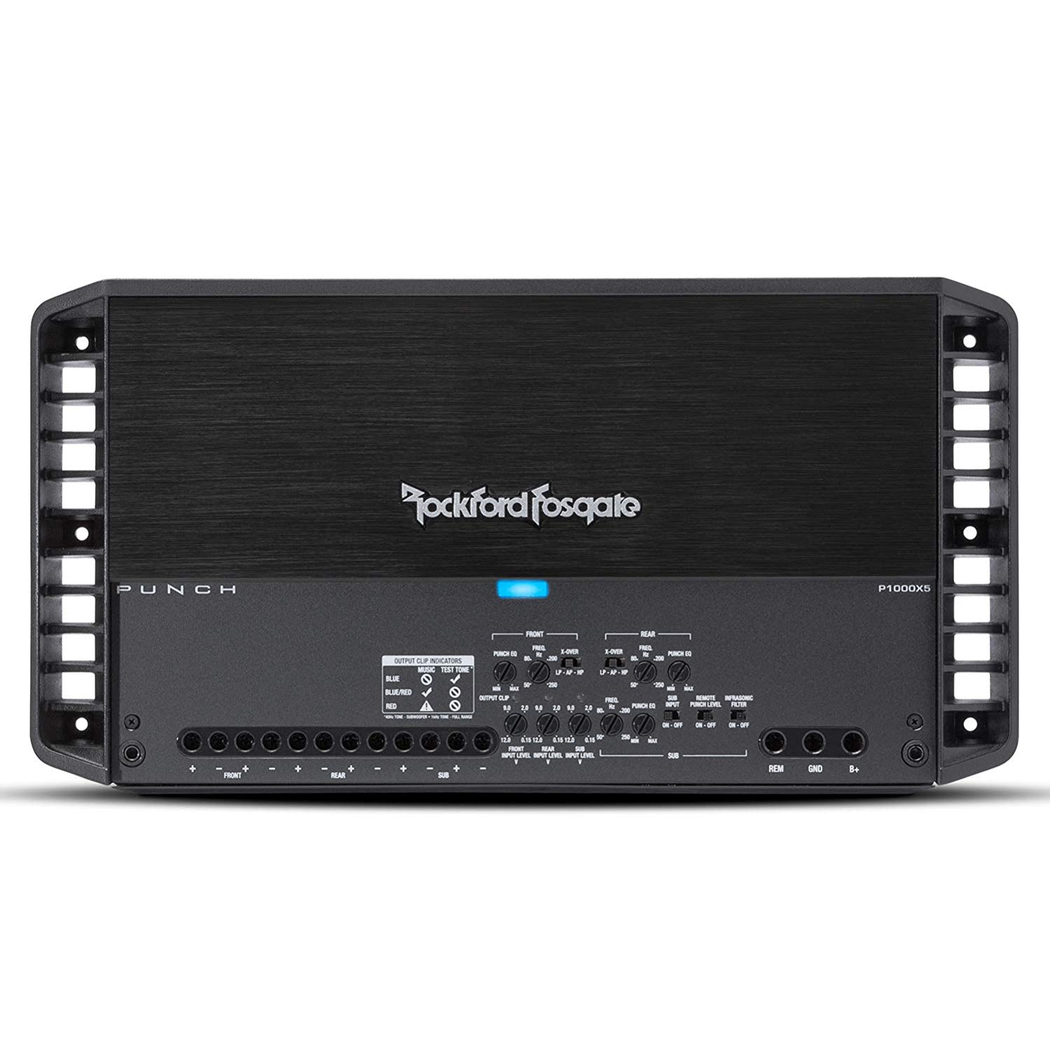 Rockford 5 Channel Amplifier - Punch Series  P1000X5