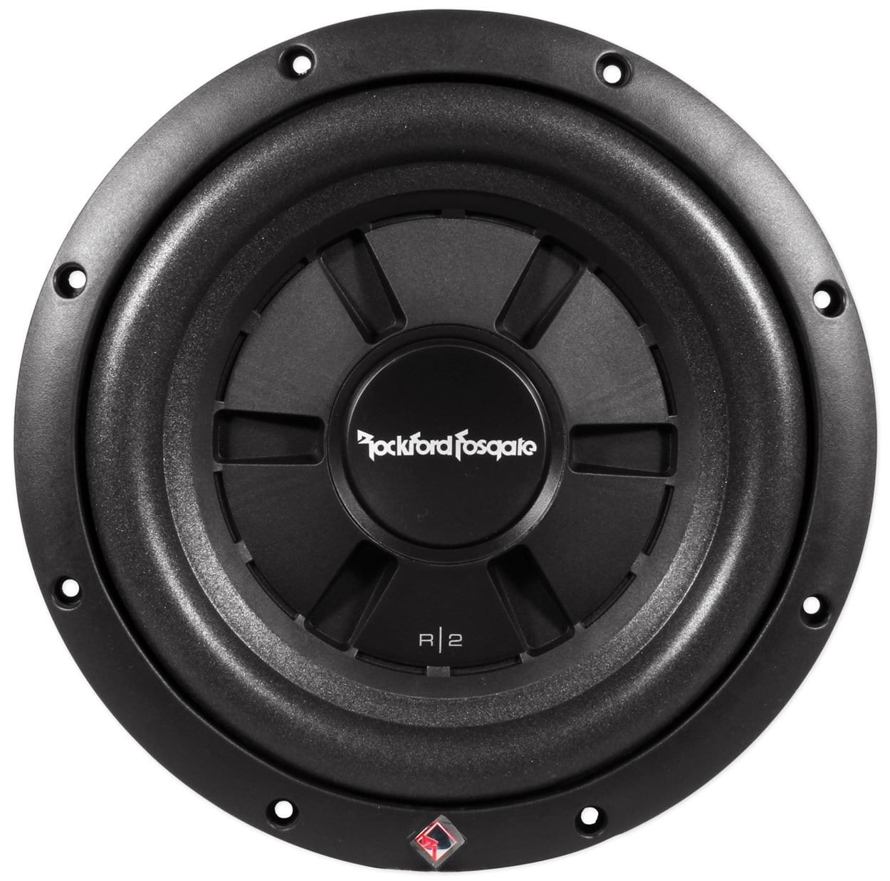 """Rockford R2 Shallow 10"""" 4-Ohms DVC Subwoofer - Prime Series R2SD4-10"""