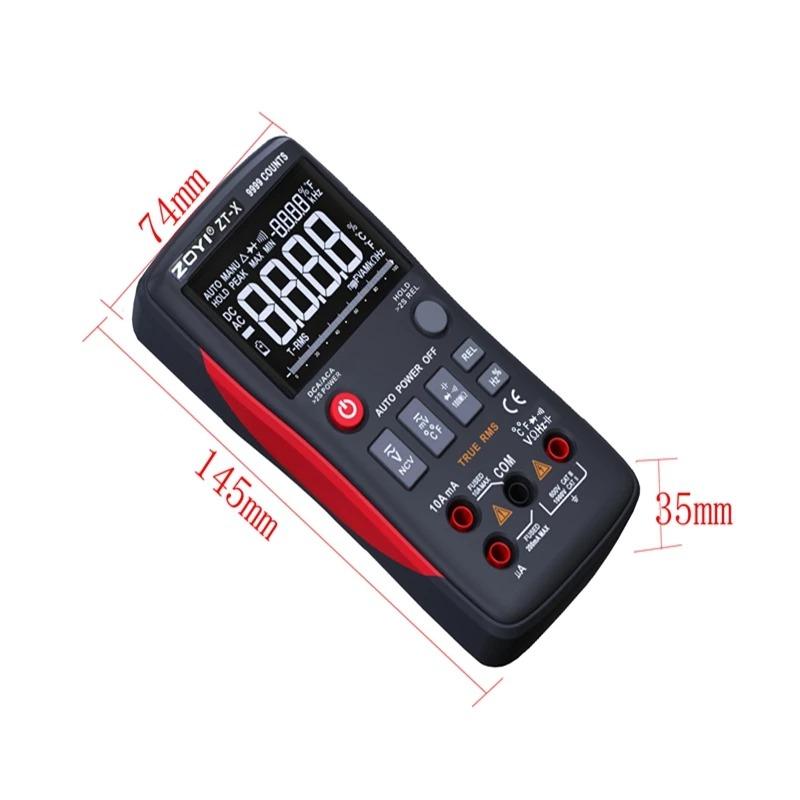 ZOYI ZT-X 9999 Counts Multimeter