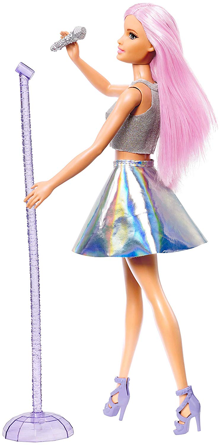 Barbie Career Doll - Pop Star Doll FXN98