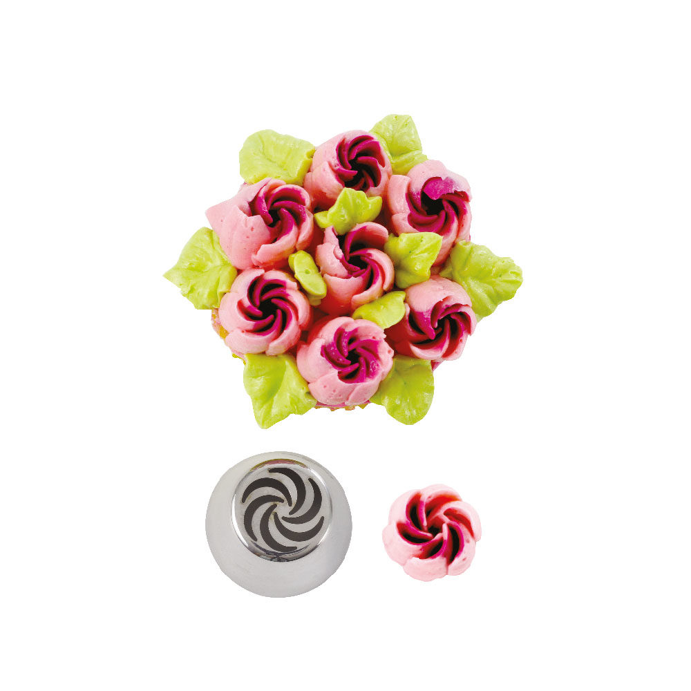 DECORA BLISTERED CLOSED ROSE NOZZLE NR. 8B 263621