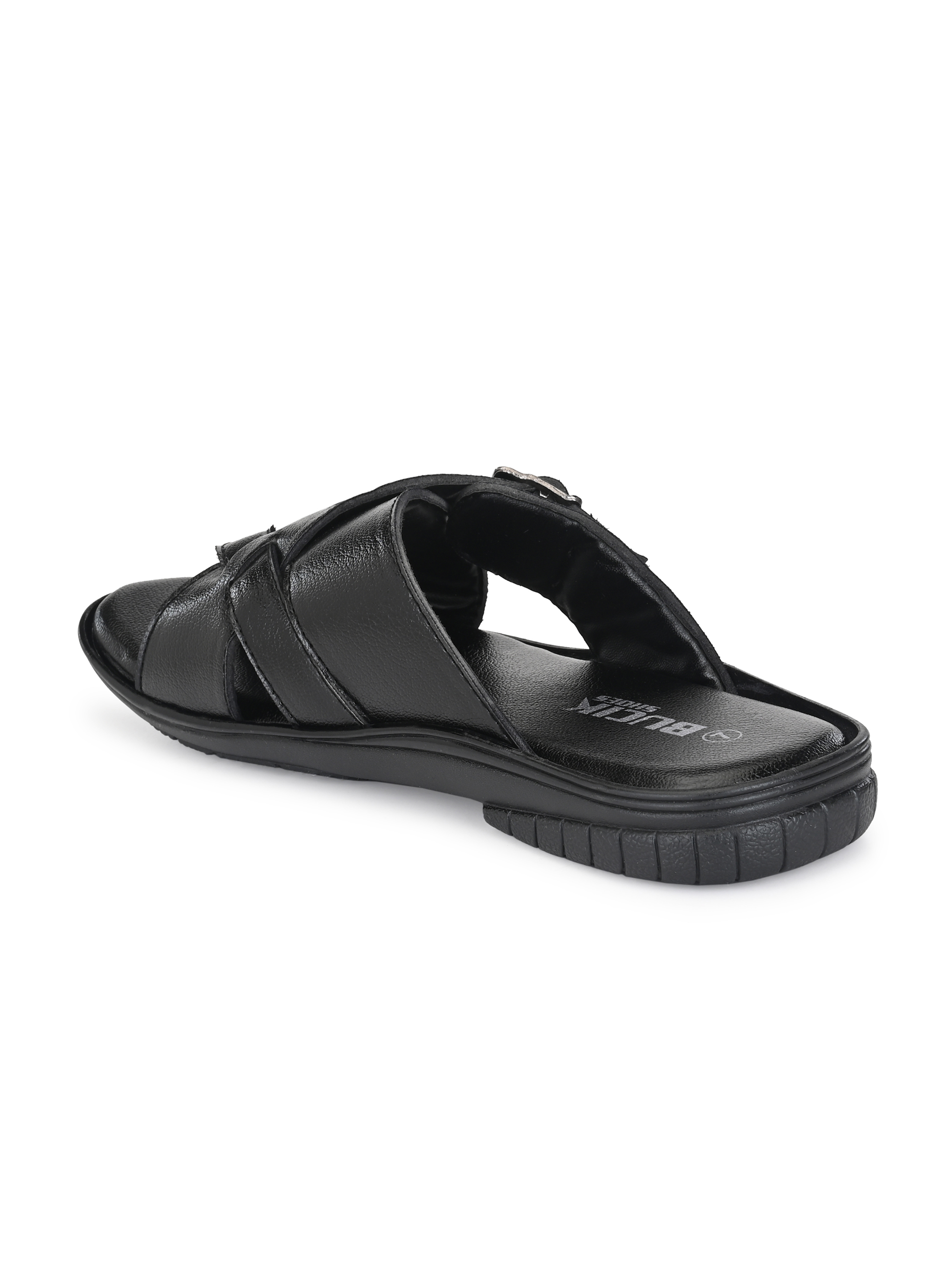 BUCIK MENS SYNTHETIC LEATHER BLACK SLEEPER BCK3021-BLACK (BLACK,6-10,8 PAIR)