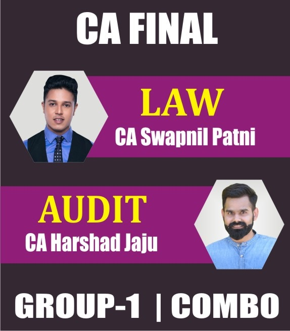 CA FINAL NEW SYLLABUS COMBO CORPORATE AND ECONOMIC LAWS AND ADVANCE AUDITING COMBO Full Lectures