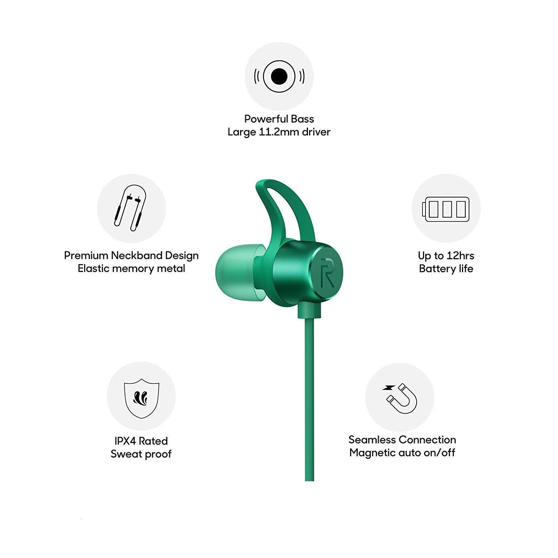 Realme Wireless Buds (Green)