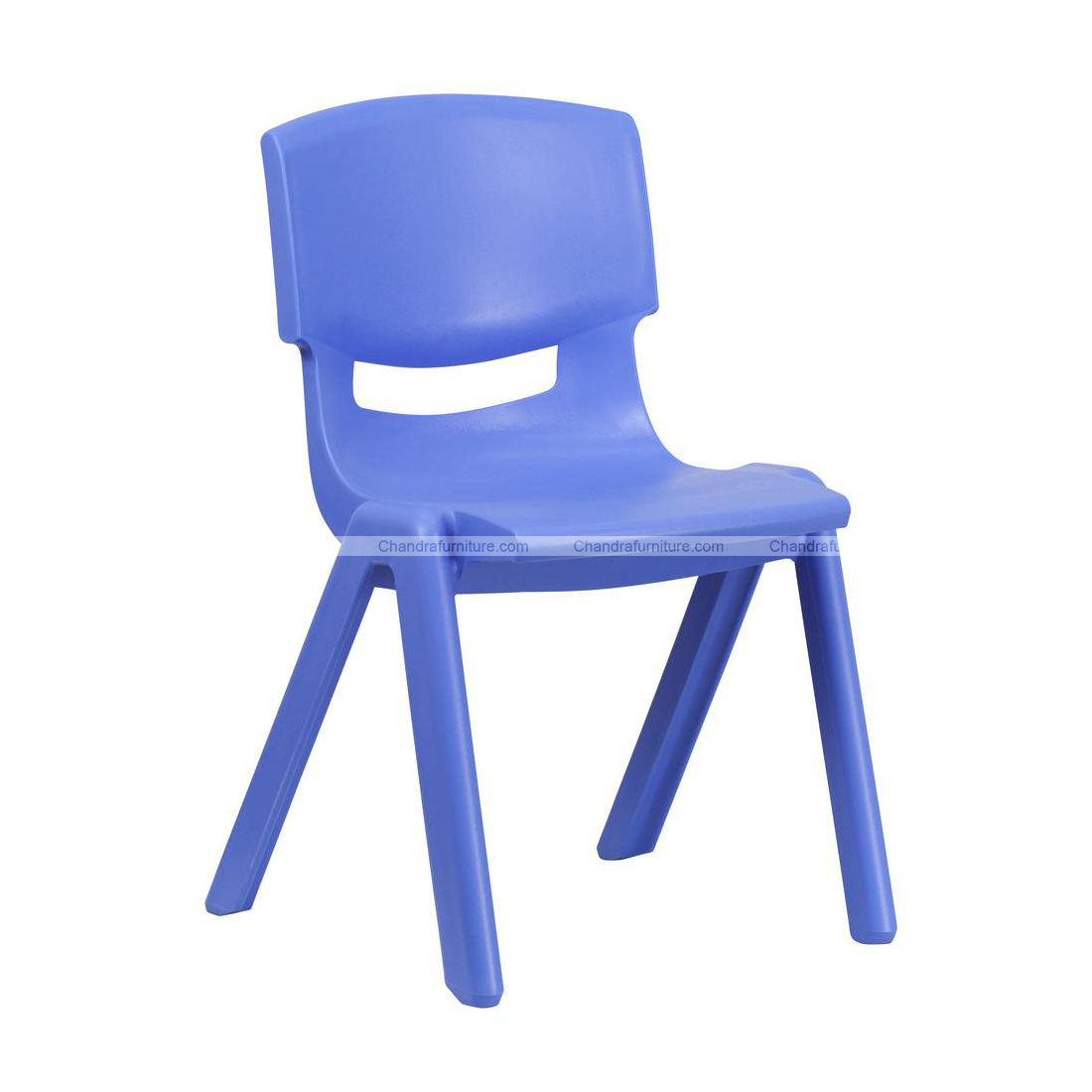 Chandra Furniture Playgroup Seating Chair Blue Colour