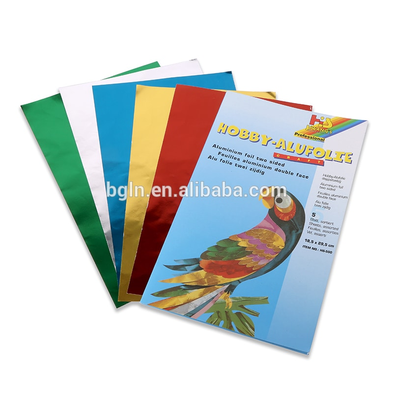 Art Foil Leaf Imitation Assorted (5 Colour)