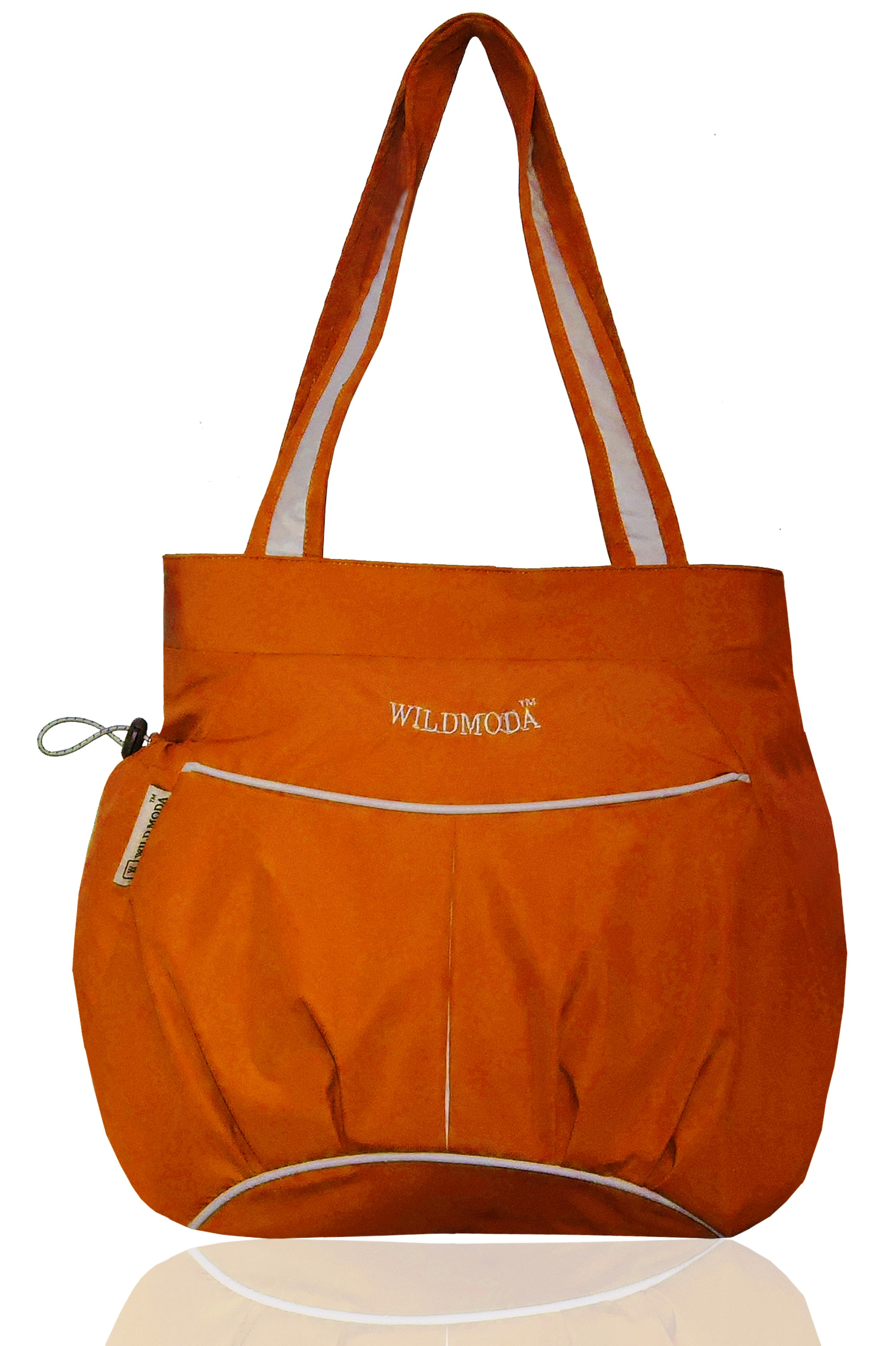 Wildmoda Women Orange Shoulder Bag
