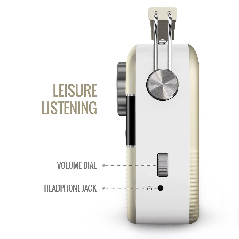 Saregama Carvaan Digital Audio Player (Porcelain White)