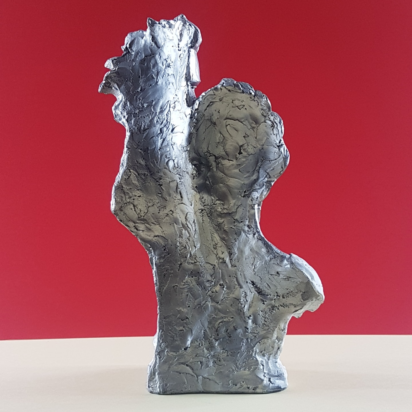 Couple  Sculpture Statue 01