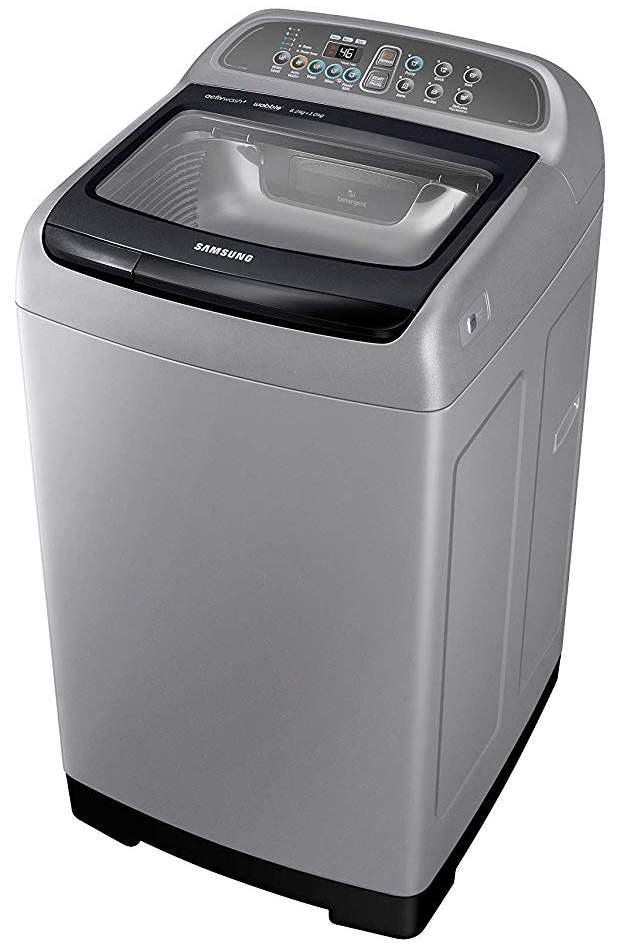 Samsung 6.2 Kg Fully-Automatic Front Loading Washing Machine (WA62N4422BS/TL, Silver)