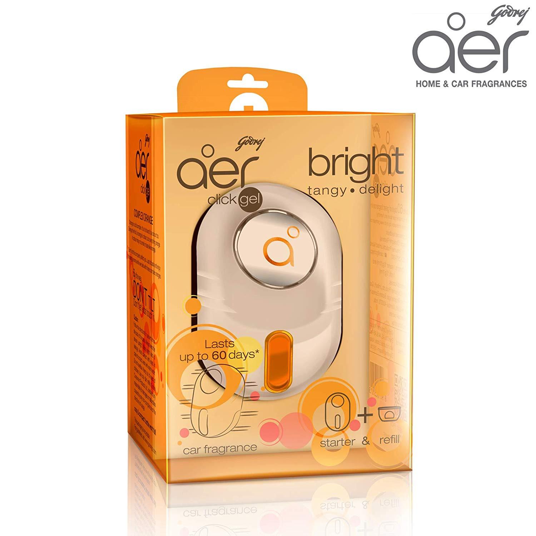 Godrej Aer Click Gel Bright Tangy Delight(orange)
