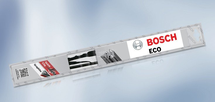 """Bosch Conventional Metal Wiper Blade (ECO)  22"""" Single (550mm) 3397011650END"""