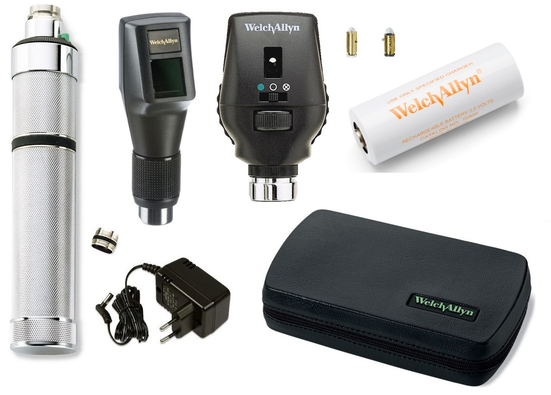11772 VC Ophthalmoscope Retinoscope Combined Set