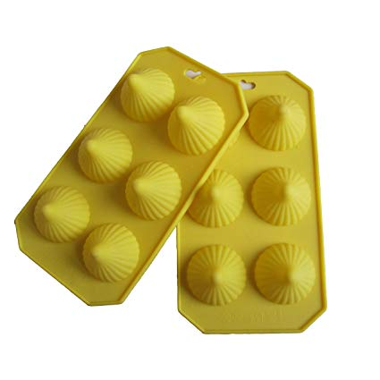 Silicone Modak Chocolate Candy Jelly Mold Single Piece - Divena In (Large)