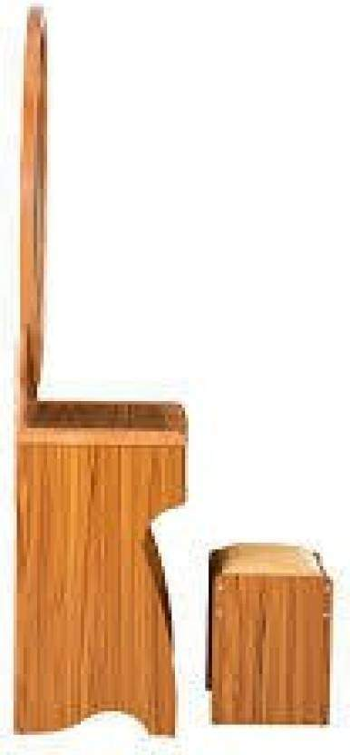 RoyalOak Ultra Solid Wood Dressing Table(Finish Color - Natural Brown)