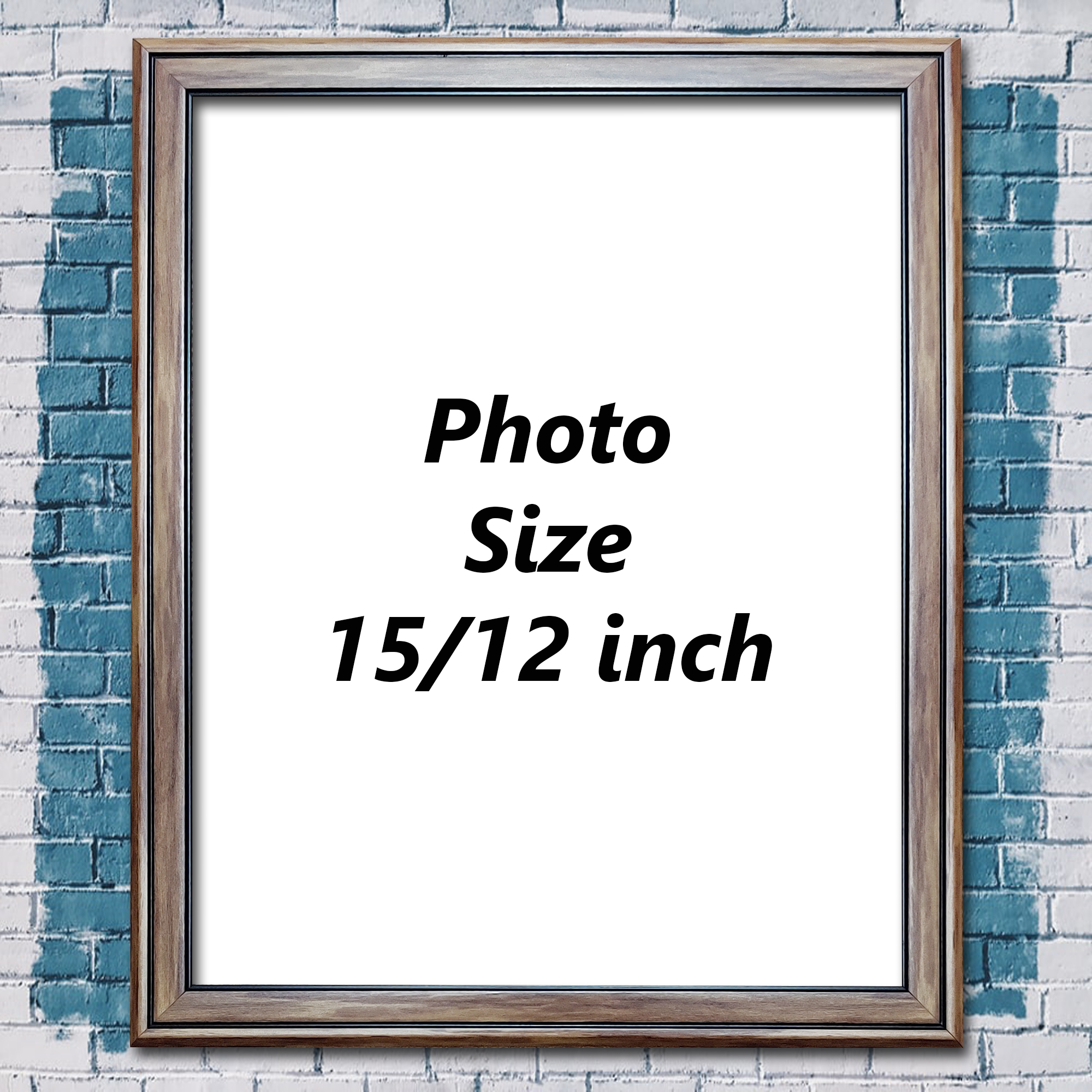 Photo Frame 15/12 Inch BN11 (Glossy Lamination)