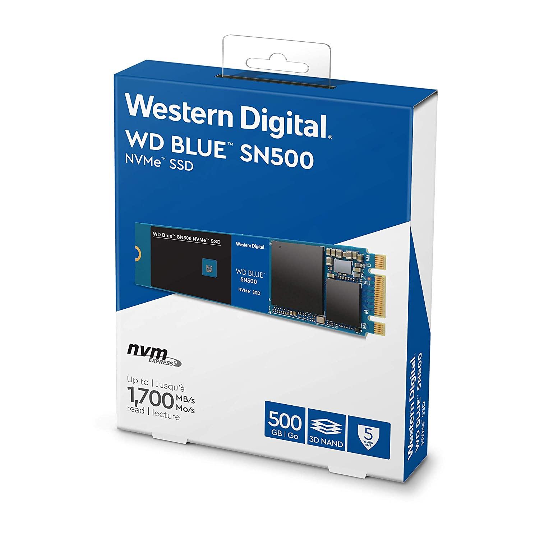SSD WD 500 GB NVME BLUE