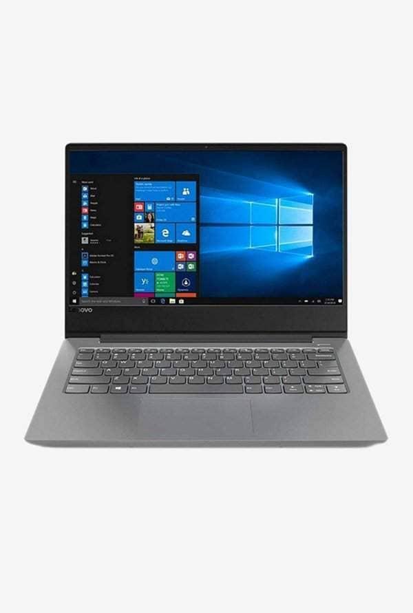 Lenovo Ideapad 330S (81F400PEIN) (8th Gen I3/4GB+16GB/1TB/35.56cm(14)/W10/INT) Platinum Grey