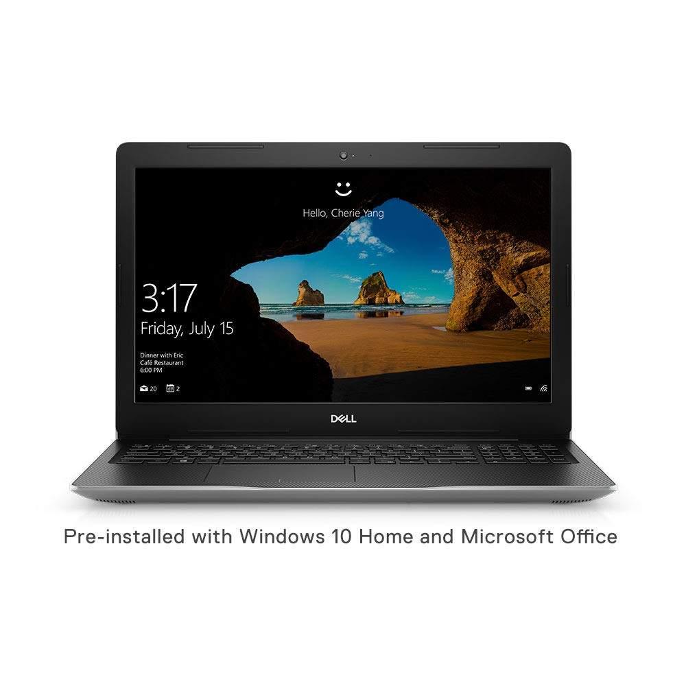 DELL Inspiron 3593 15.6- Laptop (10th Gen Core I5-1035G1/4GB/512GB SSD/Windows 10 Home/Intel UHD Graphics), Platinum Silver