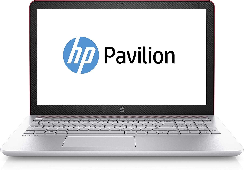 HP Pavilion 15-Cc065Nr 39.62 Cm (15.6) Red Laptop (8 GB, 1 TB, Intel Core I3)