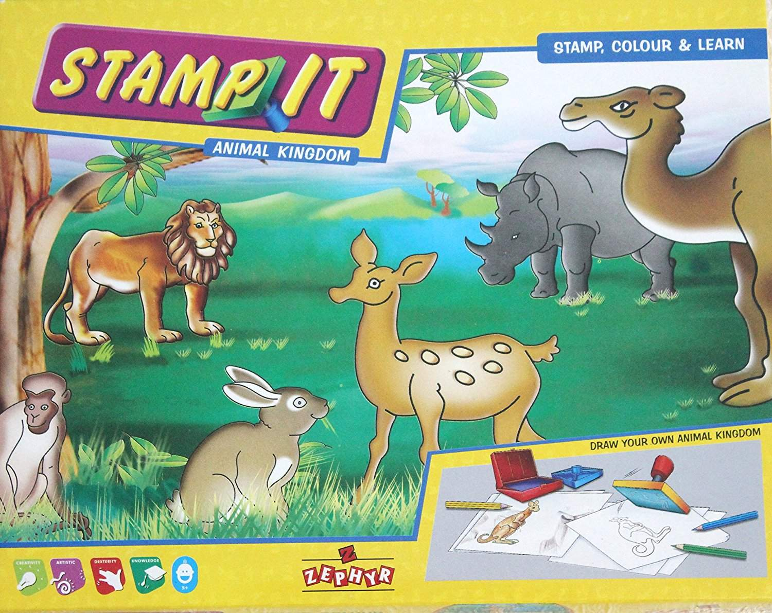 Zephyr Animal Kingdom Stamp Kit