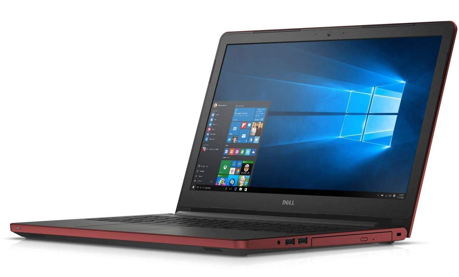 Dell Inspiron 15 Pro High Performance 39.62 Cm (15.6) 2016 Flagship Red Edition Laptop (8 GB, 1 TB, AMD Quad Core, Windows 10)