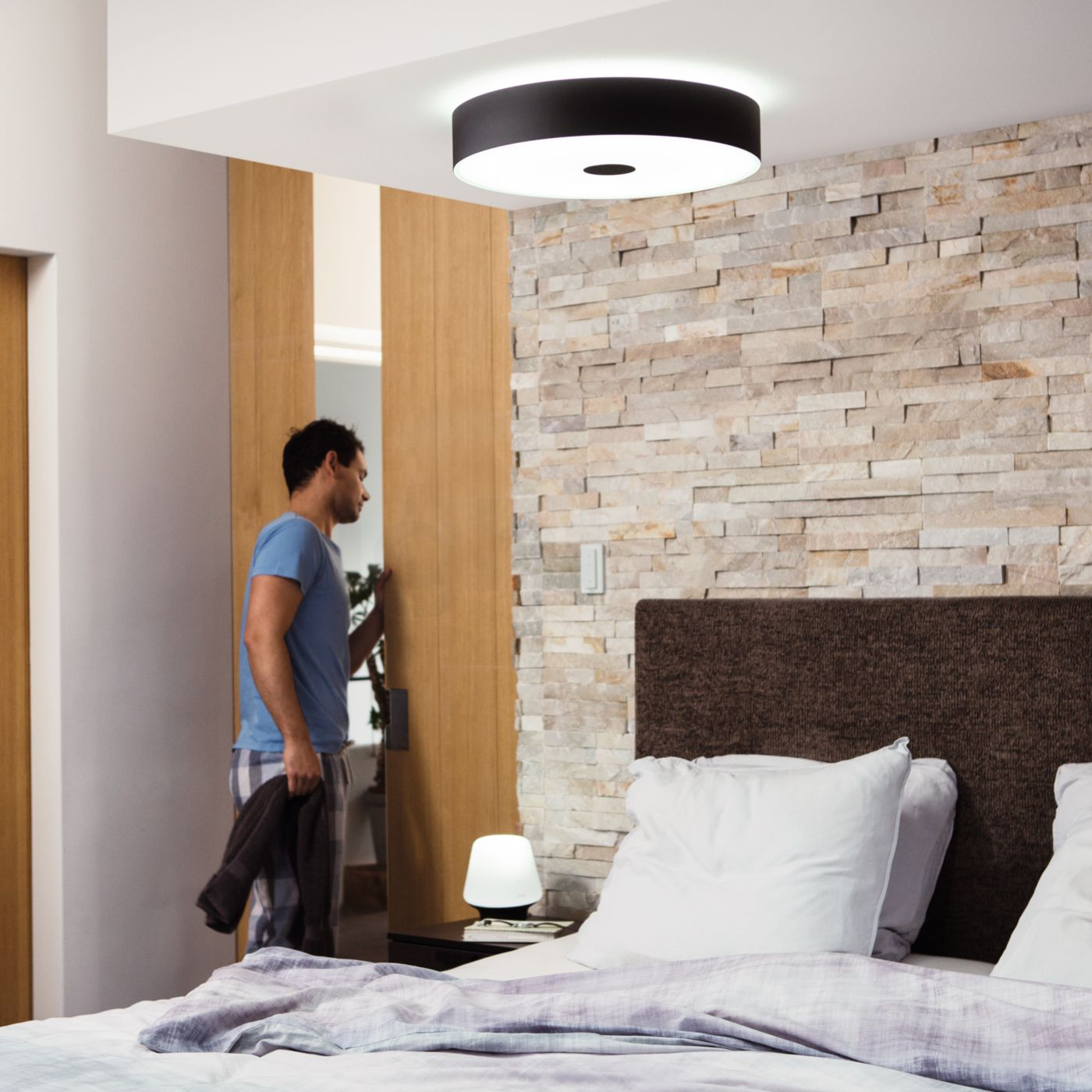 Philips Hue Fair Smart Ceiling Light White Ambiance With Dimmer Switch