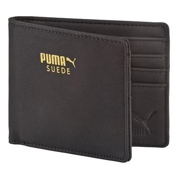 Puma Suede Unisex Billfold Wallet One Size Black [7322101]