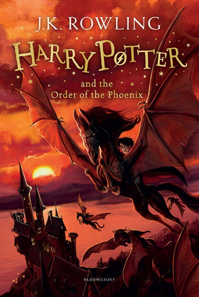 Harry Potter And The Order Of The Phoenix (Harry Potter 5)(J K Rowling)