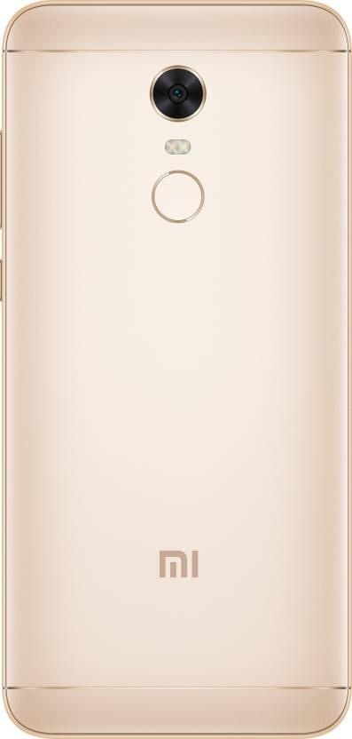 Redmi Note 5 (RAM 3 GB, 32 GB, Gold)