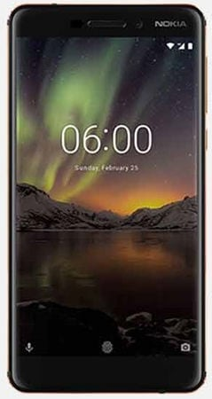 Nokia 6.1 (RAM 4 GB, 64 GB, Blue & Gold)