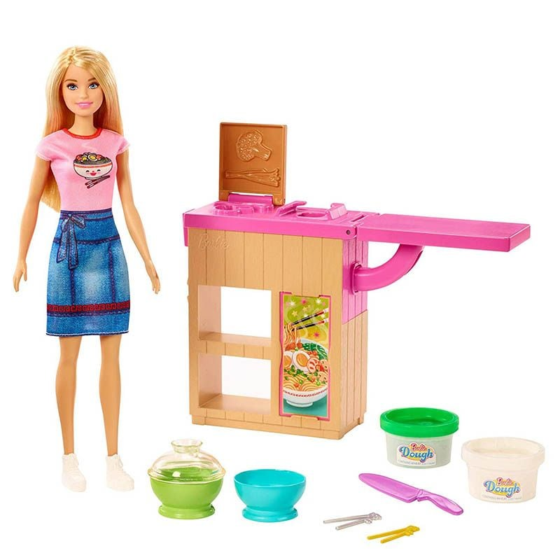 Barbie Noodles Maker Doll And Playset GHK43